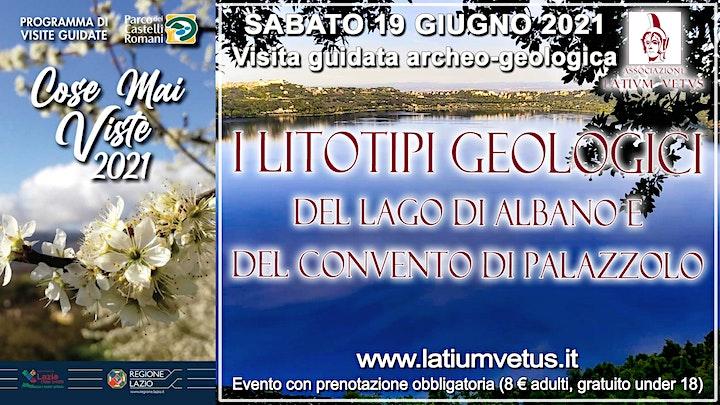 Immagine Visita geologica ai litotipi del lago di Albano e all'area di Palazzolo