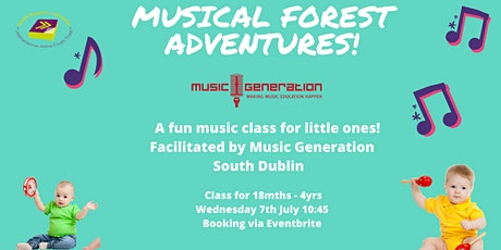 Musical Forest Adventures for Little Ones (Outdoors) tickets