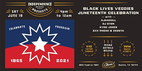 Black Lives Veggies Juneteenth Celebration tickets