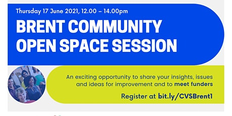Brent Voluntary and Community Sector Open Space Event biglietti