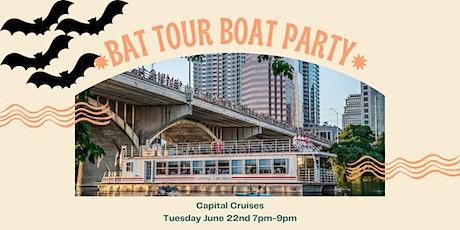 Bat Tour Boat Party tickets
