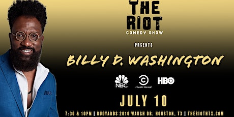 The Riot Comedy Show presents  Billy D Washington (Comedy Central, HBO) tickets