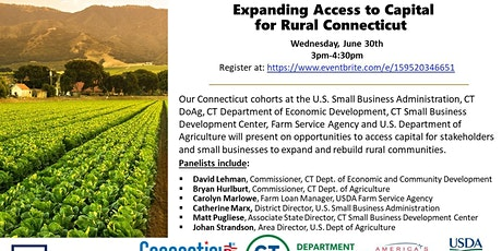 Expanding Access to Capital for Rural Connecticut tickets