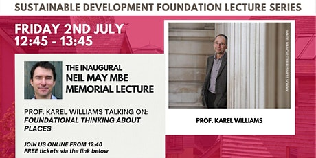 Inaugural Neil May Memorial Lecture Tickets