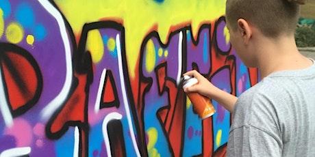 Graffiti: Handstyle, Mosaik und Objekte – mit Ausstellungsmöglichkeit Tickets