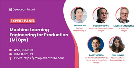 Machine Learning Engineering for Production (MLOps) tickets