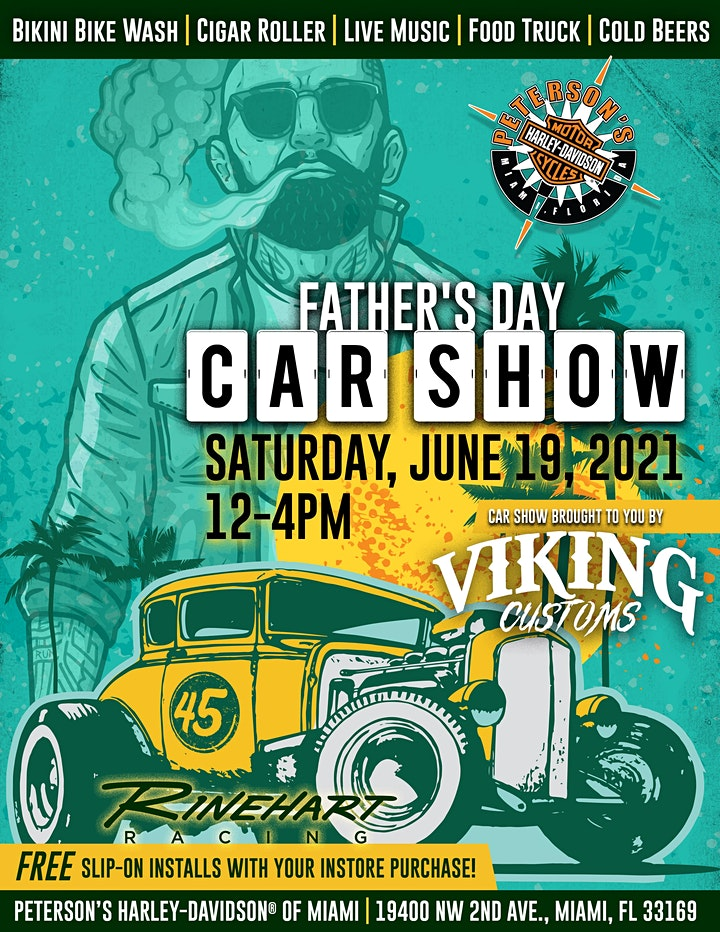 Father's Day weekend Car Show by Viking Customs image