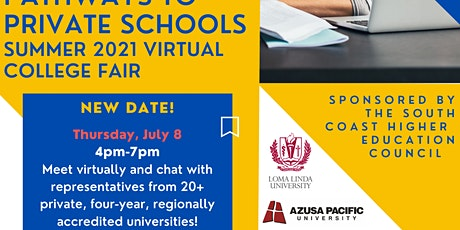 Pathways to Private Schools - College Fair tickets