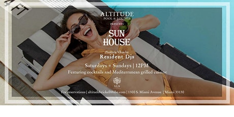 Sun House Pool Party tickets