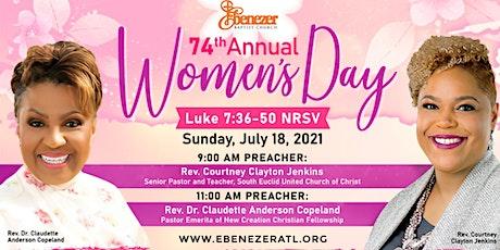 Ebenezer Baptist Church 74th Annual Women's Day tickets