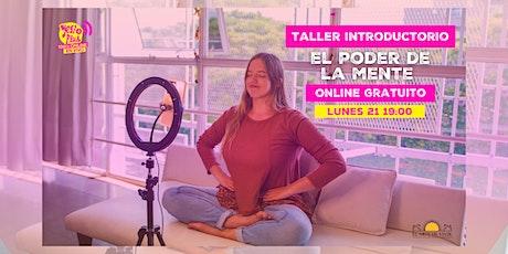"""""""El Poder de la Mente"""" - Taller de Meditación Online y Gratuito entradas"""