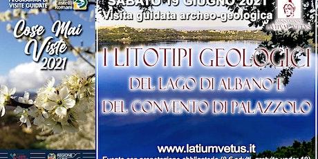 Visita geologica ai litotipi del lago di Albano e all'area di Palazzolo biglietti