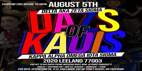 Texas Greek D.A.Z.S of K.A.O.I.S tickets
