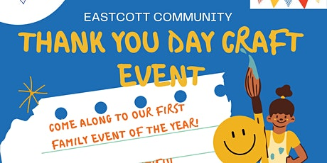 Thank You Day Family Craft Event! tickets