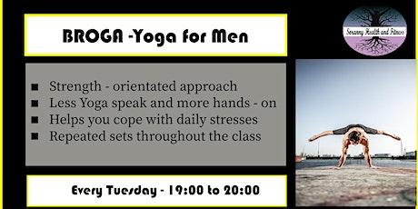 Broga - Yoga for Men tickets