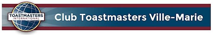 Image de Club Toastmasters Ville-Marie: Portes ouvertes virtuelles / Open house