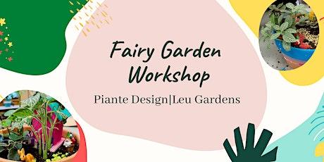 Family Fairy Garden Workshop tickets