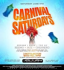 "Each & Every Saturday ""CARNIVAL SATURDAYS"" (Ladies free all night) tickets"