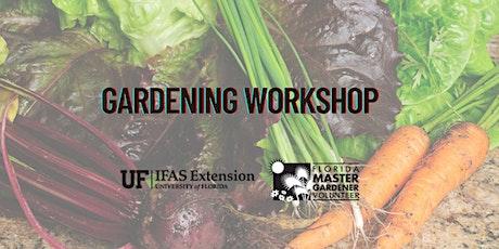 Gardening Workshop tickets