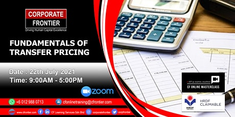 Fundamentals Of Transfer Pricing tickets