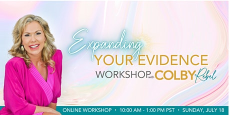 Expanding the Evidence Workshop with Colby Rebel tickets