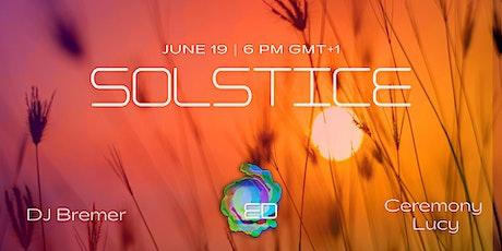Ecstatic Dance Online Ep.23: SOLSTICE feat. DJ Bremer tickets