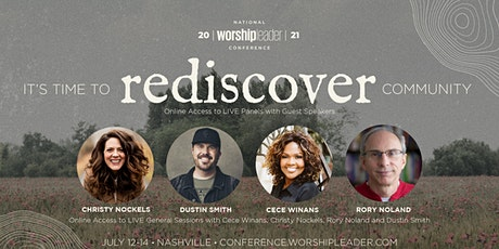 National Worship Leader Conference 2021 tickets