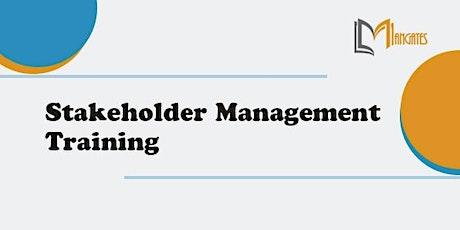 Stakeholder Management 1 Day Training in St. Gallen tickets