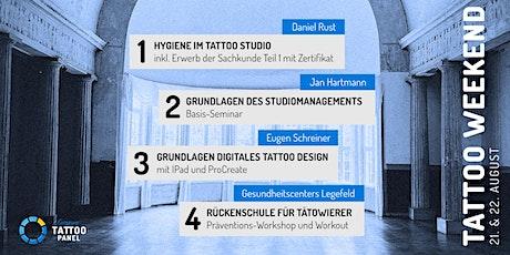 1st Tattoo-Panel Seminar Weekend Tickets