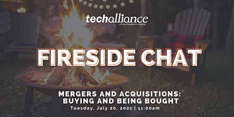 Fireside Chat |Mergers and Acquisitions: Buying and Being Bought tickets