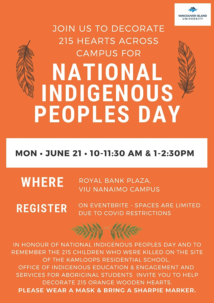 Hearts Across Campus - National Indigenous Peoples Day: Event 1 image