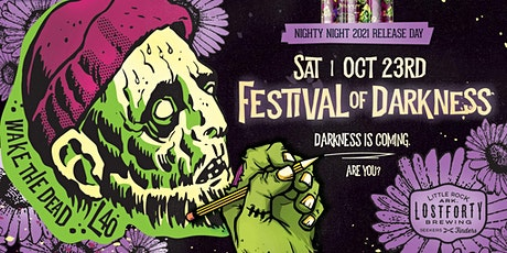 Festival of Darkness 2021: Nighty Night Release Party tickets