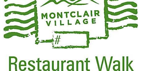 Montclair Village Restaurant Walk 2021 tickets