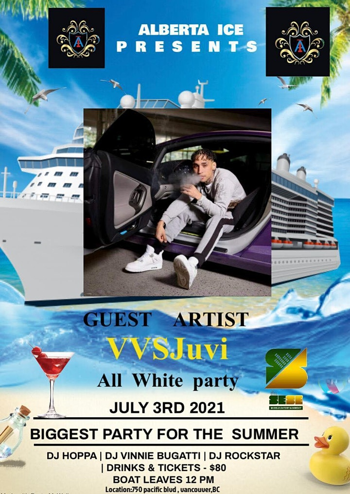 THE AFRO CARIBBEAN SUMMER BOAT PARTY WITH LIFE PERFORMANCE BY VVSJuvi image