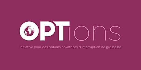 Information sur les opportunités de financement: Initiative OPTions billets