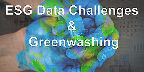 ESG Data Challenges and the Perils of Greenwashing biglietti