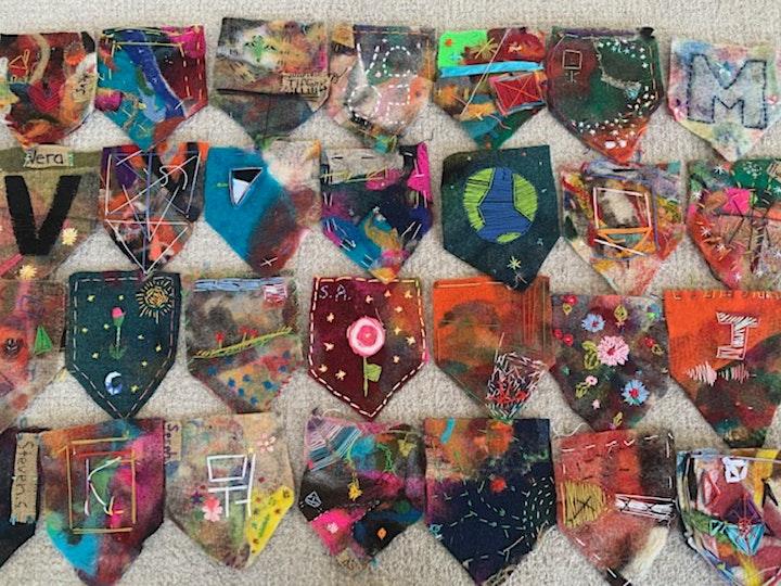 Meditative Stitching on Felt Workshop with Melanie Siegel (Wednesday) image