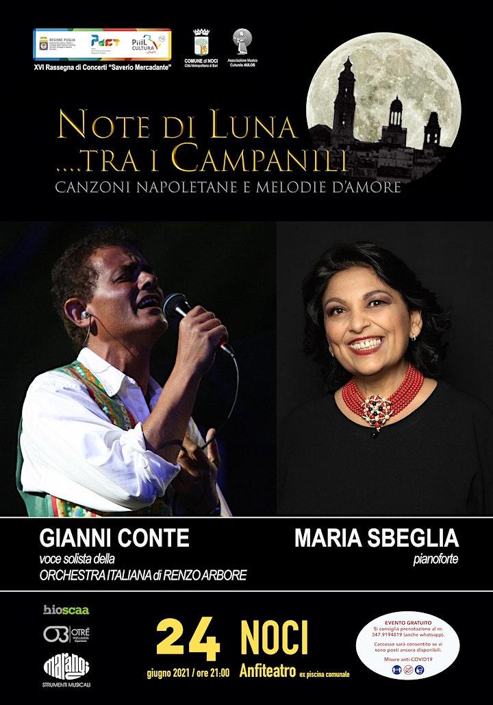 Immagine NOTE DI LUNA..TRA I CAMPANILI - Canzoni napoletane e d'amore