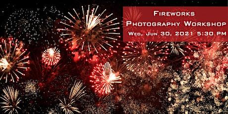 Fireworks Photography Workshop tickets