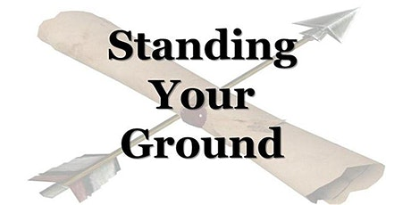 Standing Your Ground: Online Edition tickets