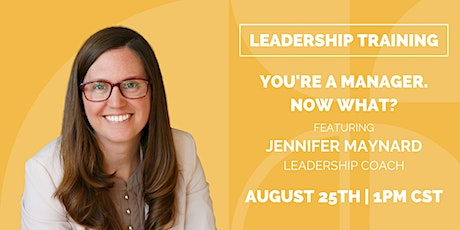 You're a Manager.  Now what? tickets