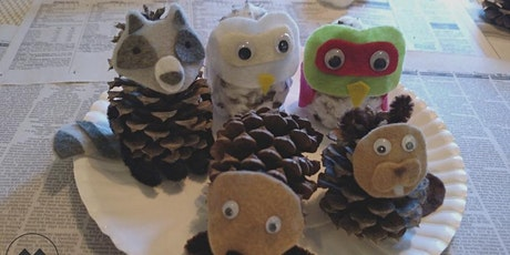 Crafternoon:  Pine Cone Creatures tickets