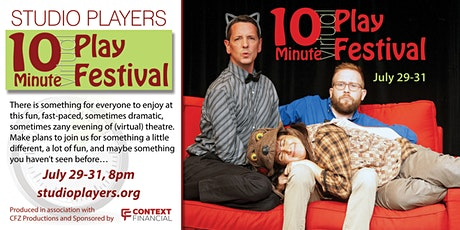 Studio Players 10-Minute (virtual) Play Festival tickets