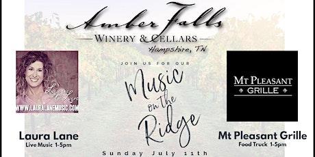 Music on the Ridge featuring Laura Lane tickets