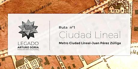 Ruta Guiada  por la Ciudad Lineal entradas