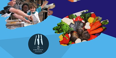 Camp de jour culinaire 3Couteaux - Semaine du 19 juillet au 23 juillet billets