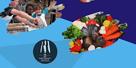 Camp de jour culinaire 3Couteaux - Semaine du 26 juillet au 30 juillet billets
