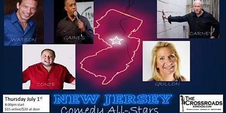 JERSEY ALL STARS Comedy Night! tickets