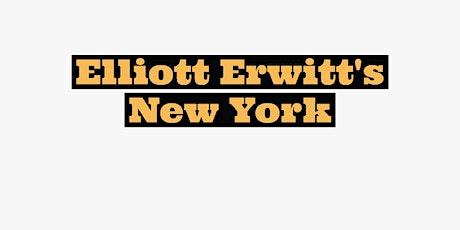 Elliott Erwitt's New York : Image Study Meetup - A Street Photography Book tickets