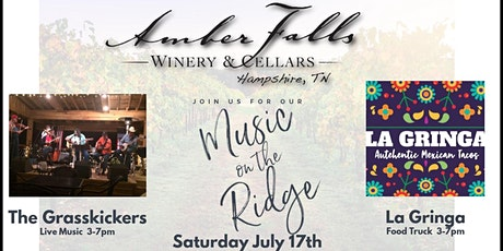 Music on the Ridge featuring The Grasskickers tickets
